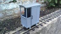 Industrial Brake Van Wagon Kit 16mm SM32 Narrowgauge Garden Railway