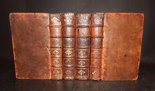 1725 LETTRES & NEGOCIATIONS ENTRE MR JEAN DE WITT &c 4 Vols Complete