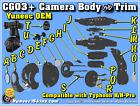 Yuneec CGO3-Plus / CGO3 Camera Parts Choose from List