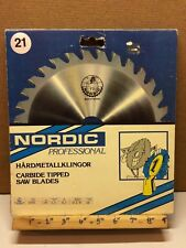 Nordic TCT Tungsten Carbide 235mm x 30mm Bore 28T Wood Saw Blade Sweden