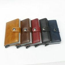 Leather RFID Secure Cash and Cards Wallet - Original Quality