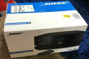 Bose Wave SoundTouch Music System IV WIFI BLUETOOTH , Espresso Black FAC. SEALED