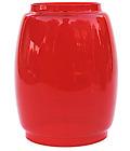 "Perko ""Yankee"" & ""Engineer"" Red Glass W.T. Kirkman #400, Railroad Lantern Globe"