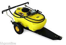 John Deere 25gal Tow Behind Sprayer 100psi Lawn Tractor