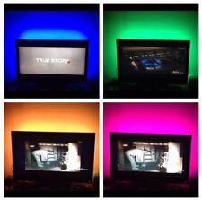 "Led Tv Back Lights Multi Color RGB Accent Lighting Kit For 55"" Tv"