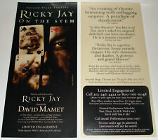 Original Ricky Jay On The Stem Flyer