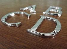 Maison Chiffre Lettres - Abc&d - Chrome Poli