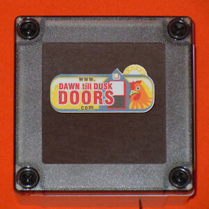 Automatic Chicken Door POP hole opener House Hen Coop Poultry Kit