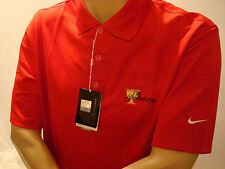 PRESIDENTS CUP NIKE MENS DRI-FIT POLO GOLF SHIRT Med. NEW RED