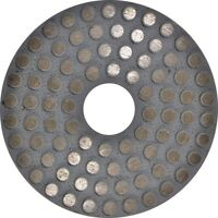 "5"" Metal Grind Polish Edge Pad Concrete Floor 30 Grit Angle grinder"
