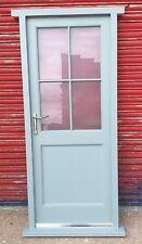 Hardwood Front Door Cottage Style!!! Made to measure!!! Bespoke!!! Glazed!