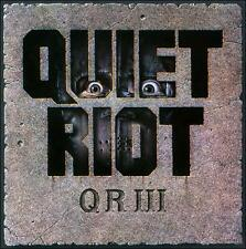 QR III by Quiet Riot (CD, Aug-2010, Rock Candy)