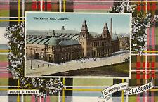 Dress Stewart Tartan, The Kelvin Hall, GLASGOW, Lanarkshire