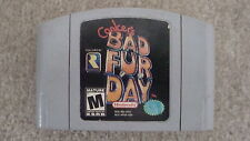 CONKERS BAD FUR DAY N64 GAME 100% TESTED & WORKING NINTENDO 64