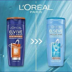 3x Loreal Elvital Anti-Schuppen der Nachfolger Selenium S Antischuppen Shampoo