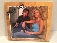 CD Consider This by Clint Stewart and Laila Johnson UNOPENED