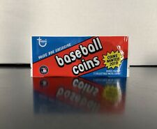 2019 TOPPS ARCHIVES UNOPENED COINS PACK MIKE TROUT C-10 & CHRISTIAN YELICH C-15