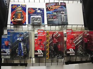DALE EARNHARDT JR. Lot of 6 action figures toys NASCAR Racing McFarlane Winner