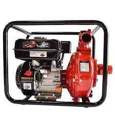 "6.5 HP Engine Driven Fire Fighting High Pressure 1.5"" Water Pump 71 GPM, 196cc"