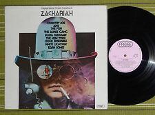 ZACHARIA, FILM SOUNDTRACK /THE JAMES GANG/ LP 1971 UK 1ST PRESS A1/B1 EX-/EX-