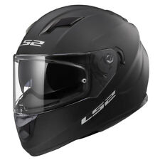 Casco moto integral LS2 FF320 Stream Matt Black Visor Solar