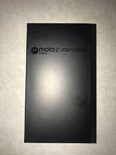 Motorola Moto Z Droid - 64GB - Black/Lunar Grey (Unlocked) Smartphone
