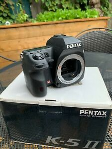 PENTAX Pentax K K-5 II 16.3MP Digital SLR Camera - Black (Body Only)