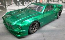 1968 Ford Mustang VTA Custom Painted RC Drift Car 4WD RTR Smooth Beltdriven