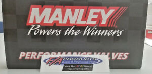 """Manley Race Flo Chevy LS Stainless Valves 2.165"""" LS-3 / L-99 / L92 Set/8 Intake"""