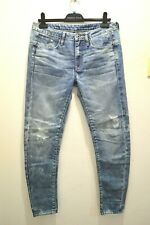 G-STAR RAW For The Oceans Aged Blue Type C 3D Low Boyfriend Jeans 26 RRP230
