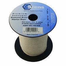145-608 100' Diamond Braid Starter Pull Rope Cord #4-1/2 Push Lawn Mower