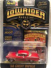 Revell Lowrider Magazine 58 Chevy Impala Lowrider 1/64 die cast car issue 207