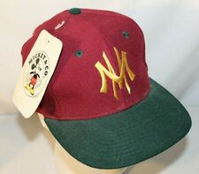 Vintage Mickey Mouse Walt Disney Universal Snapback Hat Cap - NOS NWT