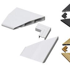 UPVC Chamfered Door Architrave Sample Pack Corner Kit Roomline Plastic Moulding