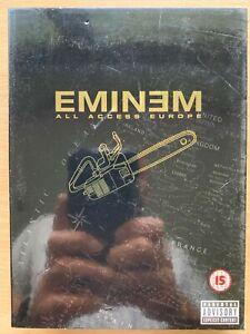 Eminem All Access Europe Tour 2002 DVD Rap Hip Hop Concert Live
