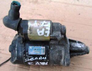 23300AA000 & 128000-1200 STARTER SUBARU ENGINE EA71 WITH 9 SPLINES [TEETH] USED