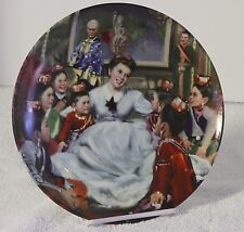 Knowles Bone China Bradford Exchange Collectable Plates GETTING TO KNOW YOU 935