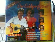 Schlagerfestival 2 Roy Black, Geschwister Leismann, Demis Roussos, Wenc.. [2 CD]