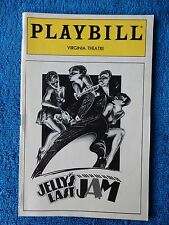 Jelly's Last Jam - Virginia Theatre Playbill - April 1993 - Gregory Hines