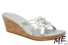 New Cole Haan Air Shayla Slide Wedge Women Sandals Sz.10  (MSRP $140) met