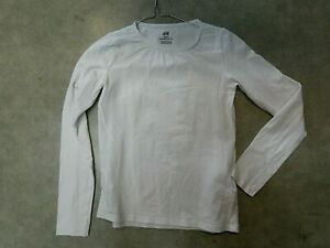 tee shirt manches longues fille 10 ans (872A2970) H&M
