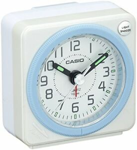 CASIO TQ-146-7JF analog travel clock alarm clock