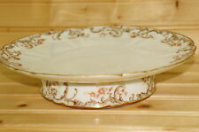 """Haviland H5038 H&C  Cake Stand, 9 1/8"""" wide x 2 1/8"""" tall,  (#1)"""