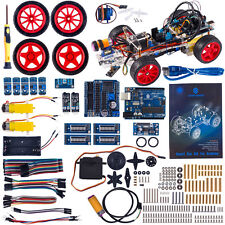 SunFounder DIY Obstacle Avoiding Smart Car Kit for Arduino with Uno R3
