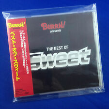 SWEET: Burrn Presents The Best Of Sweet (RARE OOP 1998 JAPAN ONLY CD TOCP-50498)