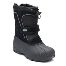 """TOTES Boys Black """"TRENT"""" Winter Boots-*NEW* in BoX -US Size 6T"""