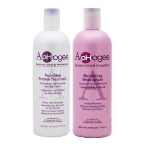 ApHogee Two Step Protein Treatment 473ml with Balancing Moisturizer 473ml