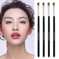 2Pcs Makeup Brushes Kabuki Face Nose Brush Foundation Eyebrow Eyeliner Brushes