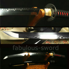 "41""1095 CARBON STEEL CLAY TEMPERED VERY   SHARP JAPANESE SAMURAI SWORD KATANA"