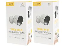 New 2 Pack Q-See Beacon 1080p Wi-Fi Outdoor Network Camera w/ Spotlight & Siren